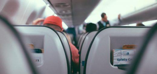passagers dans un avion